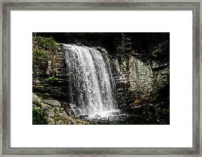 Looking Glass Framed Print by David Stine