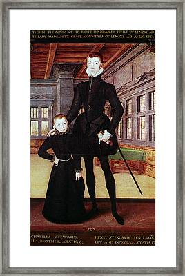 Lord Darnley (1545-1567) Framed Print