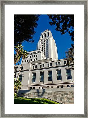 Los Angeles City Hall Framed Print