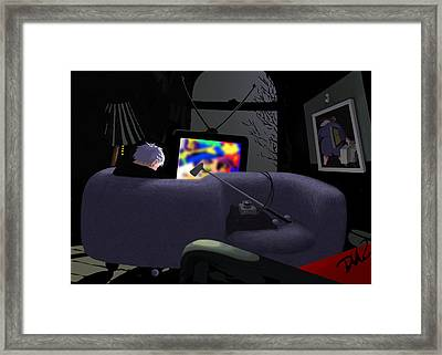 Love Seat  Framed Print by Tom Dickson