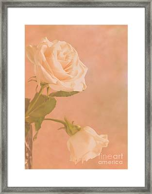 Love Whispers Softly Framed Print