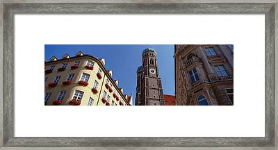 Low Angle View Of A Cathedral Framed Print by Panoramic Images