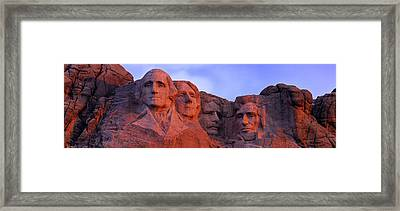 Low Angle View Of A Monument, Mt Framed Print by Panoramic Images