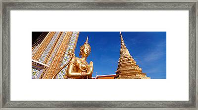 Low Angle View Of A Statue, Wat Phra Framed Print by Panoramic Images