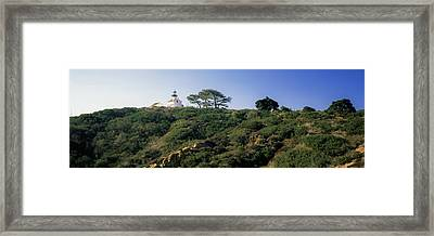 Low Angle View Of Point Loma Framed Print