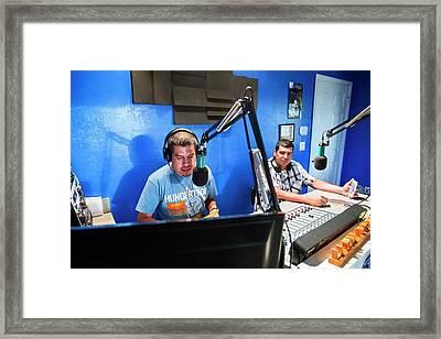Low Power Community Radio Framed Print by Jim West