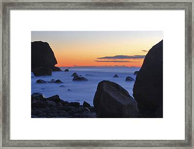 Lucy Vincent Dawn Framed Print