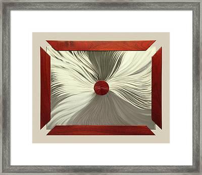 Luster Framed Print