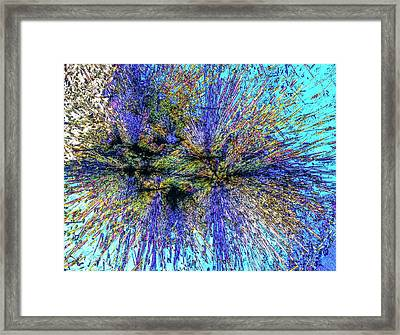 Luxulyanite Framed Print by Alfred Pasieka