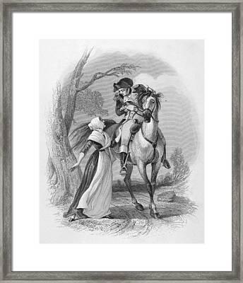 Lydia Darrah, 1777 Framed Print by Granger