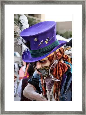 Mad Hatter Framed Print by James Stough