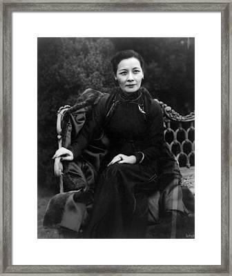 Madame Chiang Kai-shek (1898-2003) Framed Print by Granger