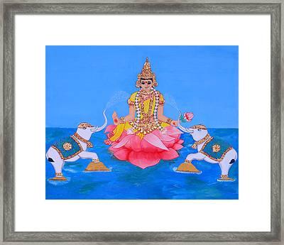 Mahalakshmi Framed Print by Pratyasha Nithin