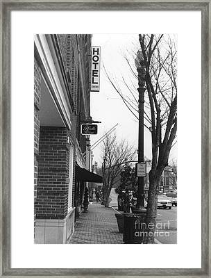 Main Street Framed Print by Michelle OConnor