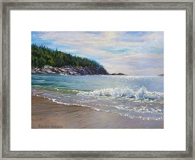 Maine Morning Framed Print