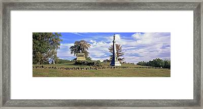 Major General Winfield Scott Hancock Framed Print by Panoramic Images
