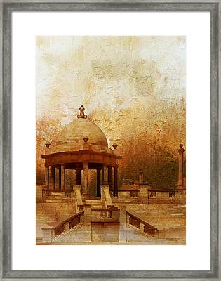 Makli Hill Framed Print by Catf