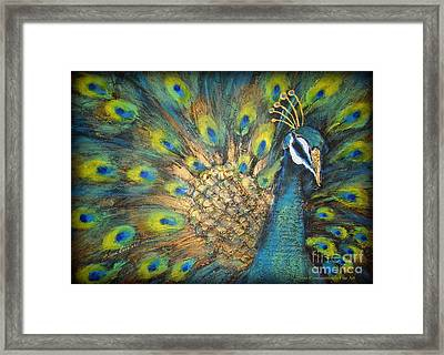 Male Beauty Framed Print by Elena  Constantinescu