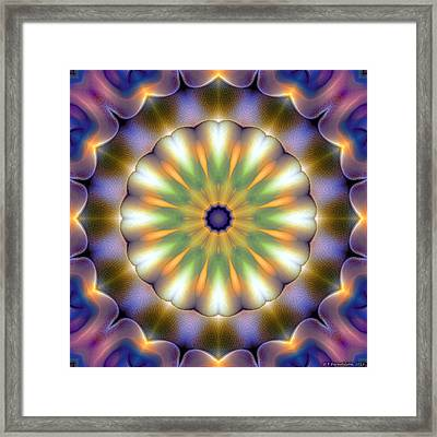 Mandala 105 Framed Print by Terry Reynoldson