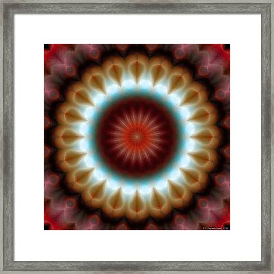 Mandala 83 Framed Print by Terry Reynoldson