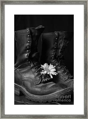 Many Miles Framed Print by Kerri Mortenson