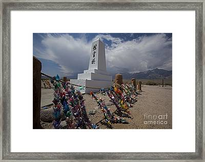 Manzanar War Relocation Center Framed Print