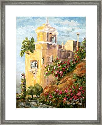 Manzanillo Magic Framed Print