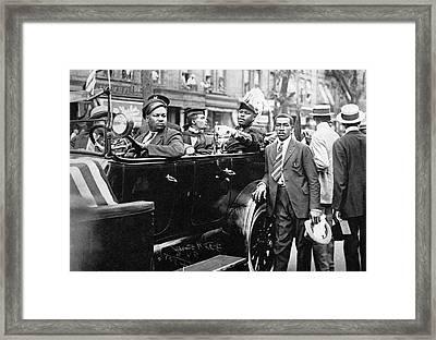 Marcus Garvey (1887-1940) Framed Print by Granger