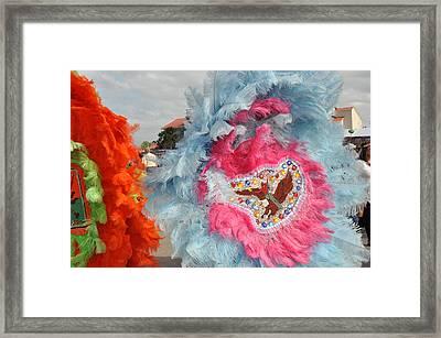 Mardi Gras Indians Framed Print