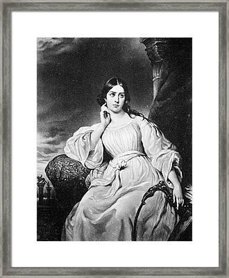 Maria Malibran (1808-1836) Framed Print