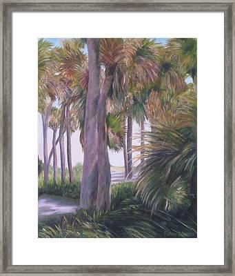 Marineland Unchanged Framed Print
