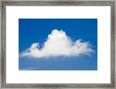 Marthas Vineyard Cloud Framed Print
