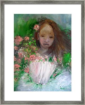 Mary Rosa Framed Print by Laurie L