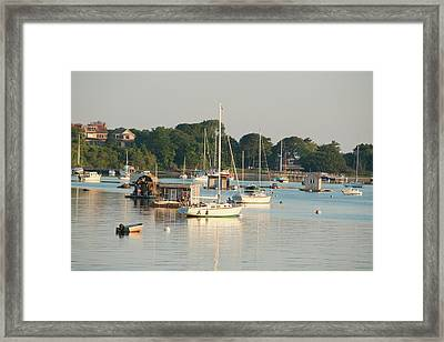 Massachusetts, Woods-hole Framed Print