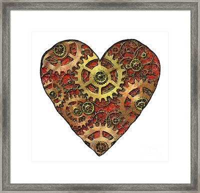 Mechanical Heart Framed Print
