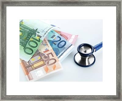 Medical Costs Framed Print