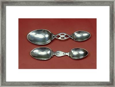 Medicine Spoons Framed Print