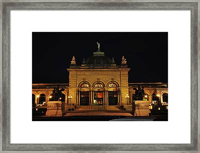 Memorial Hall - Philadelphia Framed Print by Bill Cannon