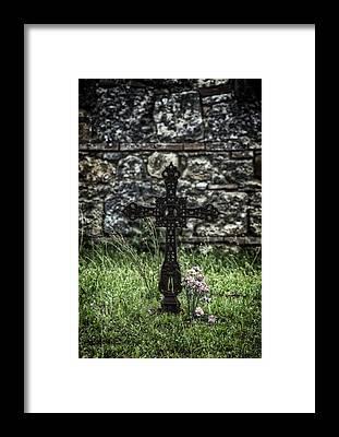 Bone Yard Framed Prints