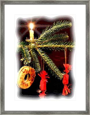Framed Print featuring the photograph Memories Of A Christmas Past by Ludwig Keck