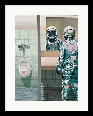 Bathroom Framed Prints