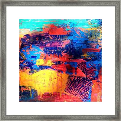 Mesa Magic Framed Print by Carolyn Repka