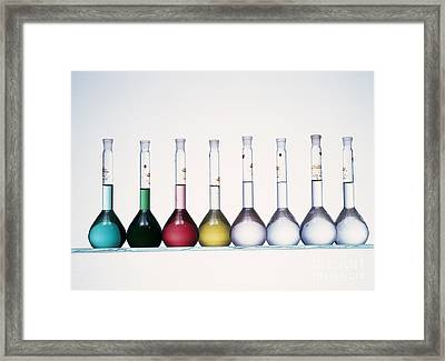 Metal Compound Solutions Framed Print