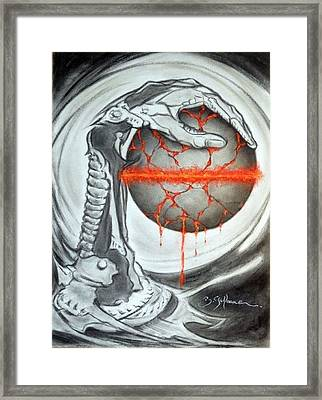 Metalangage Framed Print by Guillaume Bruno