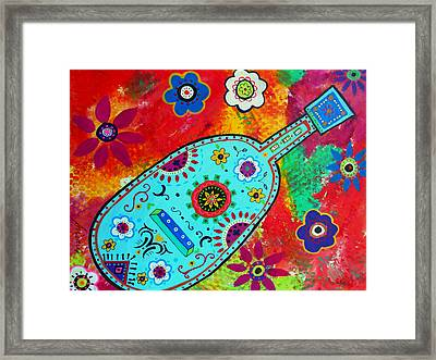 Mexican Guitar Framed Print