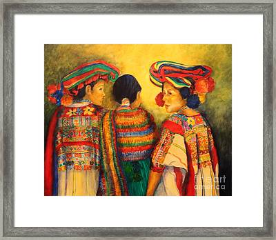 Mexican Impression Framed Print by Dagmar Helbig