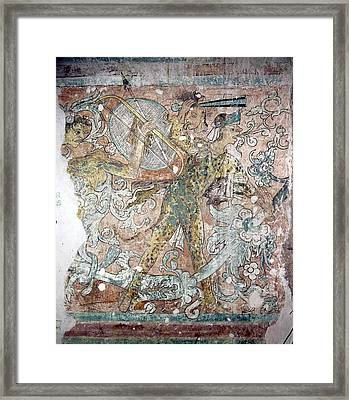 Mexico Ixmiquilpan Fresco Framed Print by Granger