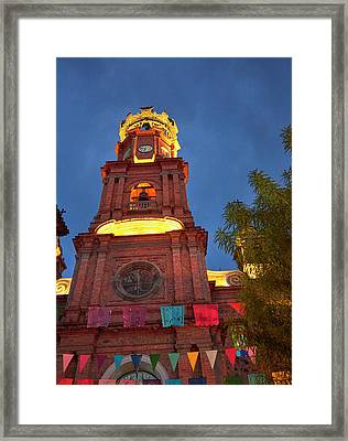 Mexico, Jalisco, Puerto Vallarta Framed Print
