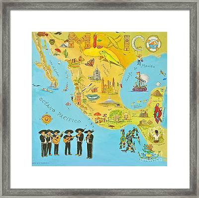 Mexico Framed Print by Virginia Ann Hemingson