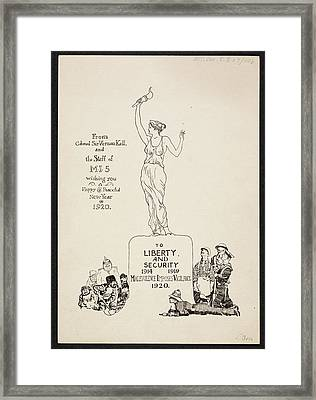 Mi5 Greeting Card Framed Print by British Library